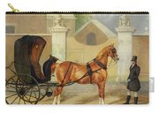 Gentlemen's Carriages - A Cabriolet Carry-all Pouch by Charles Hancock
