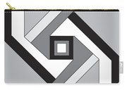Geoblock23bnw Carry-all Pouch