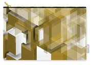 Geometric Gold Composition Carry-all Pouch