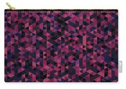 Geometric Print Carry-all Pouch