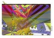 Geometric Rays Happiness Carry-all Pouch