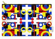 Geometric Shapes Abstract Square 2 Carry-all Pouch