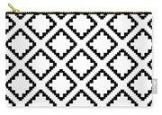Geometricsquaresdiamondpattern Carry-all Pouch