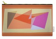 Geometry Shapes And Colors 6 Carry-all Pouch