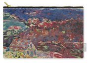 George Benjamin Luks 1867   1933 Purple Hills Carry-all Pouch