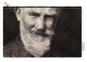 George Bernard Shaw Author Carry-all Pouch