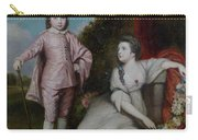 George Capel, Viscount Malden, And Lady Elizabeth Capel Carry-all Pouch