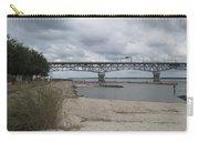 George Coleman Bridge Yorktown, Virginia Carry-all Pouch