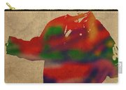 George Constanza Of Seinfeld Watercolor Portrait Carry-all Pouch