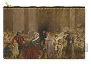 George Elgar Hicks   Sketch Of The General Post Office  One Minute To Six  1860 Carry-all Pouch