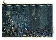 George Luks   Blue Devils On Fifth Avenue   1918 Carry-all Pouch
