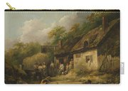 George Morland  The Bell Inn Carry-all Pouch