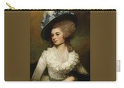 George Romney - Portrait Of Lady Caroline Price 1774 Carry-all Pouch