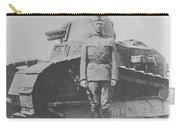 George S. Patton During World War One  Carry-all Pouch