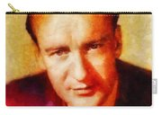 George Sanders, Vintage Hollywood Actor Carry-all Pouch
