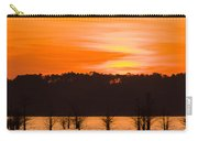 George T. Bagby State Park Sunset Carry-all Pouch