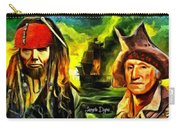 George Washington And Abraham Lincoln The Pirates Carry-all Pouch