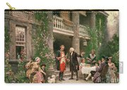 George Washington At Bartrams Garden Carry-all Pouch