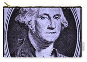George Washington In Light Purple Carry-all Pouch