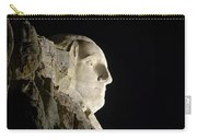 George Washington Profile At Night Carry-all Pouch