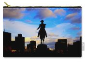 George Washington Statue Sunset - Boston Carry-all Pouch