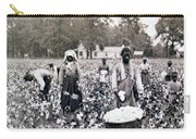 Georgia Cotton Field - C 1898 Carry-all Pouch by International  Images