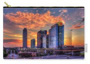 Georgia On My Mind Majestic Atlantic Station Midtown Atlanta Sunset Art Carry-all Pouch