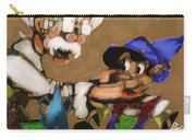 Geppetto And Pinochio Carry-all Pouch