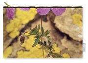 Geranium Carry-all Pouch