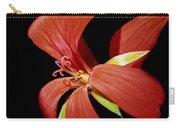 Geranium Flower Carry-all Pouch