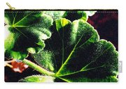 Geranium Leaves Carry-all Pouch