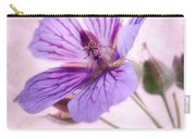 Geranium Maculatum Carry-all Pouch
