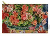 Geraniums And Cats Carry-all Pouch