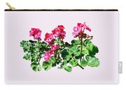 Geraniums In A Row Carry-all Pouch