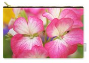 Geraniums On A Brilliant Summer Day Carry-all Pouch