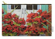 Geraniums On The Porch Carry-all Pouch