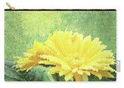 Gerber Daisy And Reflection Carry-all Pouch