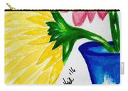 Gerber Daisy Vase  Carry-all Pouch