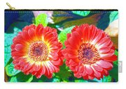 Gerbera Couple Carry-all Pouch