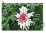 Gerbera Daisy And Bud Carry-all Pouch