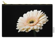 Gerbera Daisy On Black II Carry-all Pouch