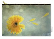Gerbera With Raindrops Carry-all Pouch