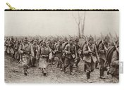 German And Austrian Soldiers Marching Carry-all Pouch