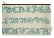 German Arabesque  Carry-all Pouch