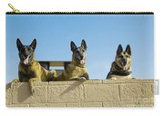 German Shephard Military Working Dogs Carry-all Pouch