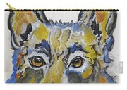 German Shepherd Painting Carry-all Pouch