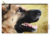 German Shepherd Portrait Carry-all Pouch