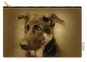 German Shepherd Pup Carry-all Pouch