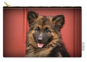 German Shepherd Puppy - Queena Carry-all Pouch