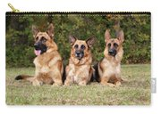 German Shepherds - Family Portrait Carry-all Pouch